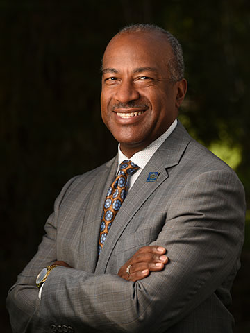 Portrait of Gary S. May, UC Davis Chancellor
