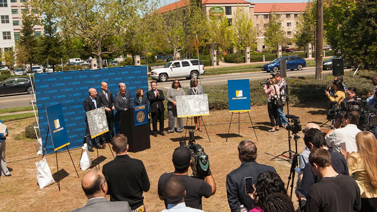 Aggie Square Press Conference