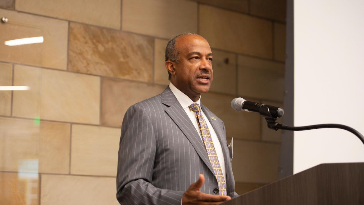 Chancellor Gary S. May