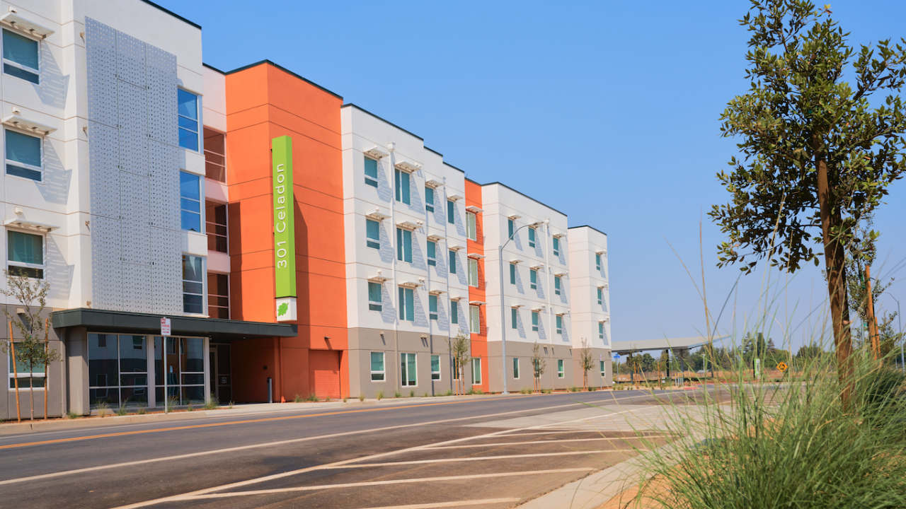 Image of The Green apartment building exterior