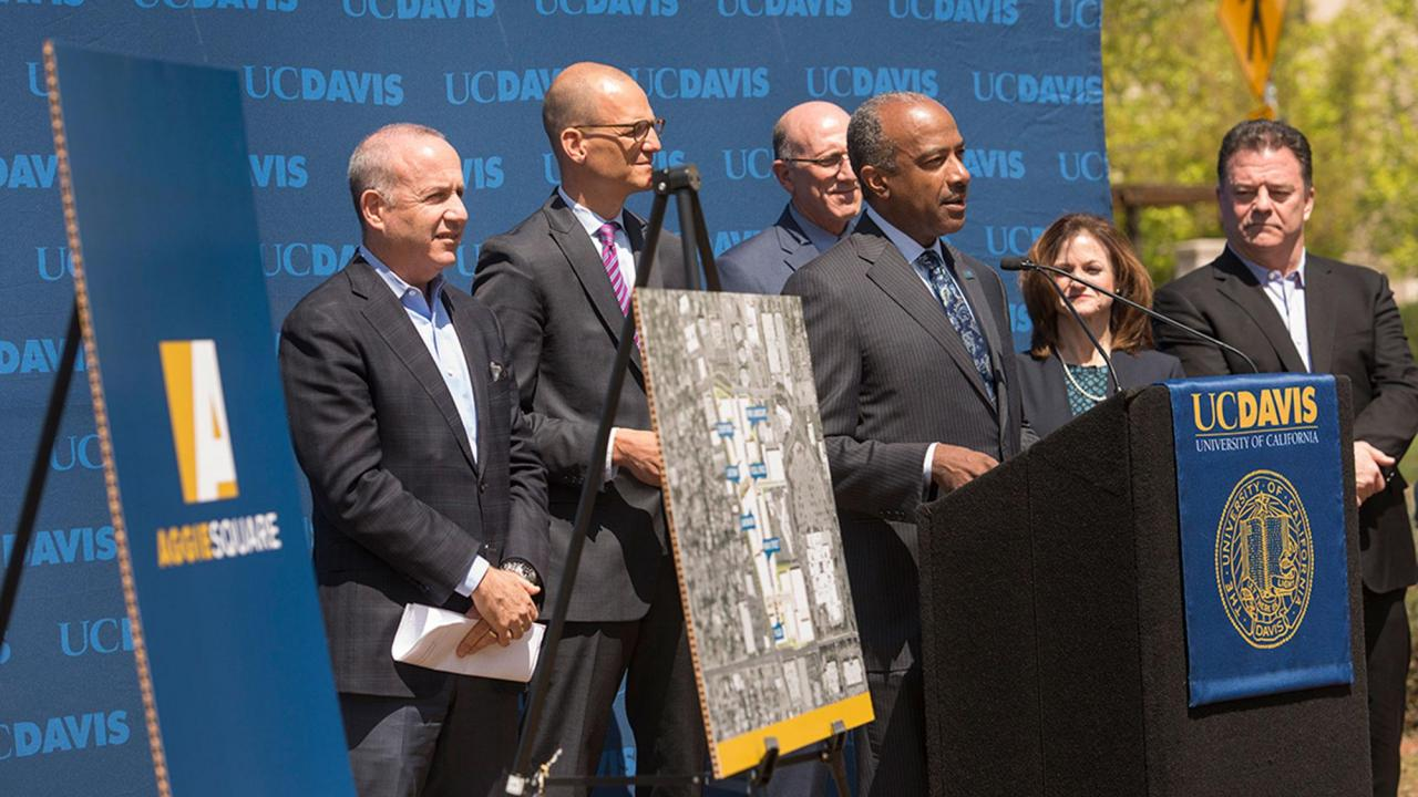 UC Davis Chancellor May