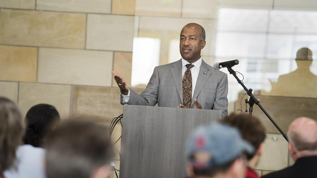 UC Davis Chancellor Gary May deliver first State of the Campus Address