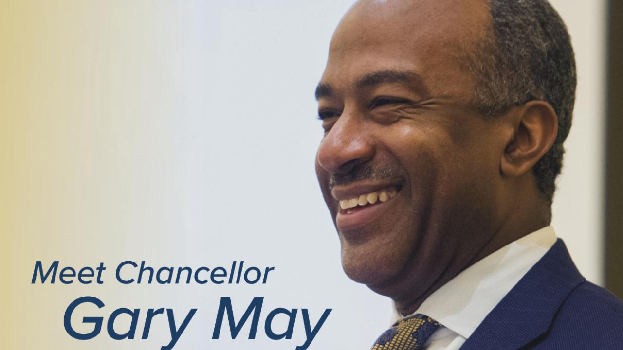 Meet UC Davis Chancellor Gary May