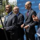 Aggie Square announcement at UC Davis Health