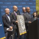 Chancellor May announces Aggie Square at Oak Park